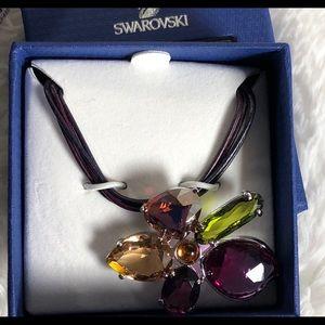 Swarovski Jewelry - NWOT Swarovski Flower Pendant Necklace